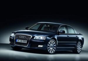 Audi A8/Standaufnahme