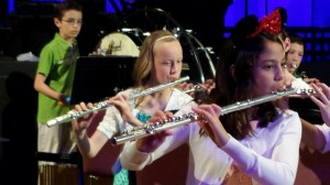 Emma Playing Flute- Close Up- Spring 2015